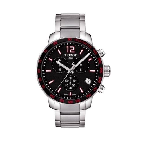 Reloj de hombre TISSOT Quickster Chronograph - T095.417.11.057.00