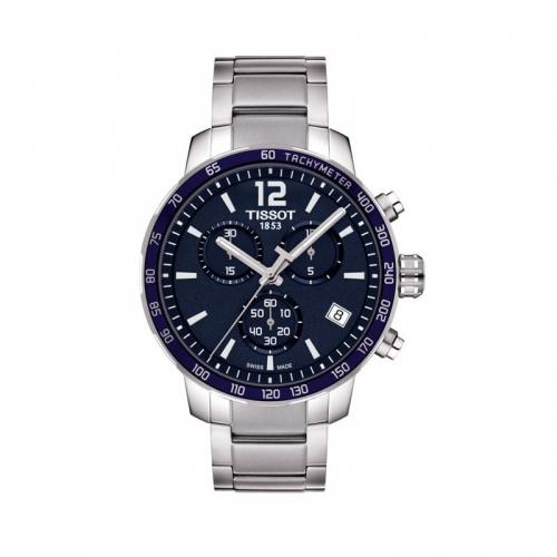 Reloj de hombre TISSOT Quickster Chronograph - T095.417.11.047.00