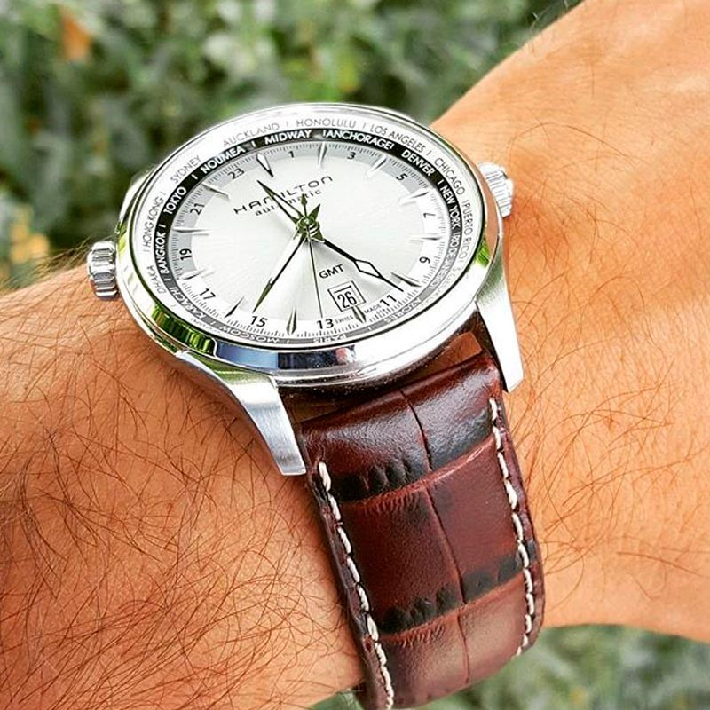 fdfb7a19277f Previous. Reloj de hombre Hamilton Jazzmaster GMT - H32605551. Reloj de  hombre Hamilton Jazzmaster ...