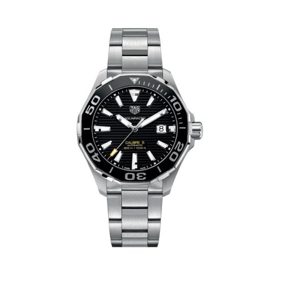 Reloj de hombre TAG Heuer Aquaracer Calibre 5 - WAY201A.BA0927