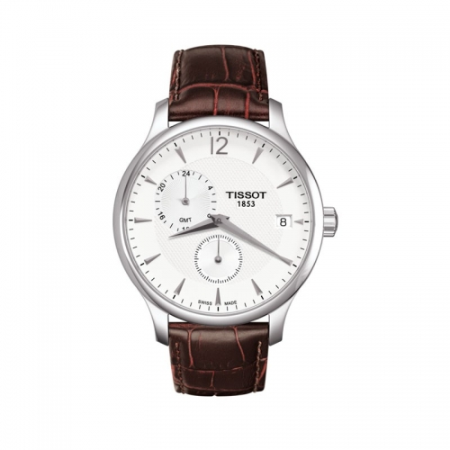 Reloj de hombre TISSOT Tradition GMT - T063.639.16.037.00