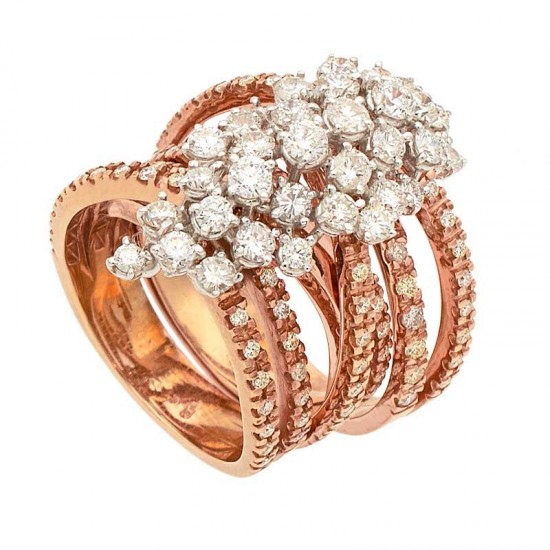 Soltija multiaro con diamantes