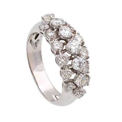 Sortija calada diamantes...