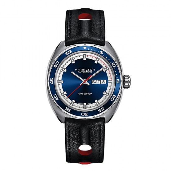 Hamilton American Classic Pan Europ Day Date Auto - H35405741