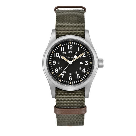Hamilton Khaki Field Mechanical -...