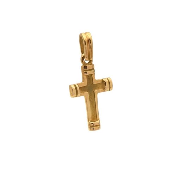 Cruz Oro Amarillo Reforzada