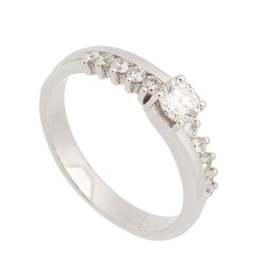 Sortija de diamantes - 0654