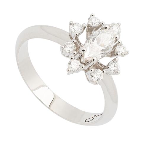 Sortija de diamantes - 1192