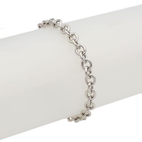 Pulsera cadena de plata