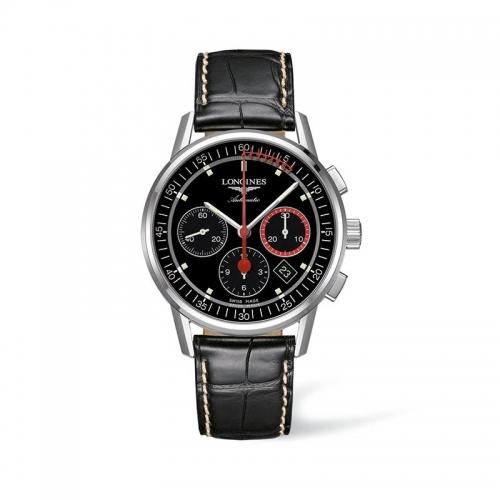 Reloj de hombre Longines Heritage Chronograph - L4.754.4.52.4